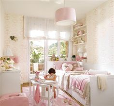 pink girly rooms