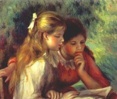 The reading, 1890 - Renoir