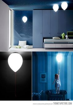 balloon lamp - love!