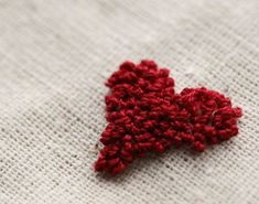 punch needle embroidery...can't wait to give this a try!