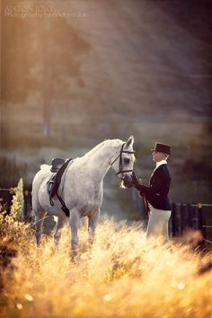 Beyond beautiful horse and rider...