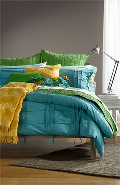 Fun colors for a guest room
