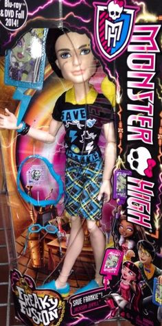 MONSTER HIGH Save Frankie JACKSON NEw In Hand