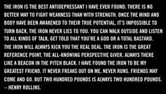 fit fiend, irons, henry rollins the iron, fit rock, fitness
