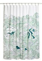 Swell Acquainted Shower Curtain   Mod Retro Vintage Bath   ModCloth.com