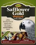 Higgins Safflower Gold Natural Parrot Food - Large 3 lb - NO Sunflower Seeds
