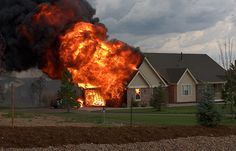 House Fire | Benefits of Prepping before SHTF | Survival Prepping Ideas, DIY, Survival Gear and SHTF Preparedness at Survival Life Blog : survivallife.com