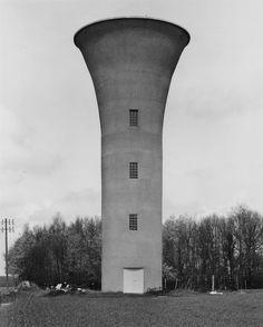 Maisoncelles, Seine Marne, France, photo by Bernd & Hilla Becher, sometime between 1972-'79