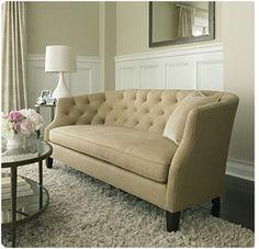 Sofa, walls, rug