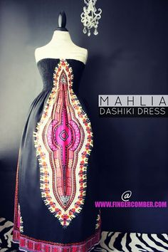 MAHLIA DASHIKI DRESS