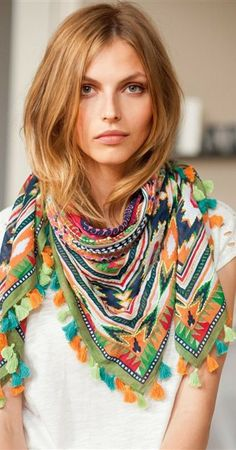 Embroidered Boho Tops, Dresses, More: 2014 Trends - (article)
