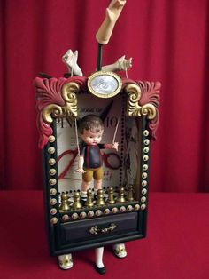 Not Your Puppet Anymore Assemblage Art Theater by WonderAnn