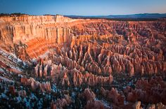 Bryce Canyon at dawn