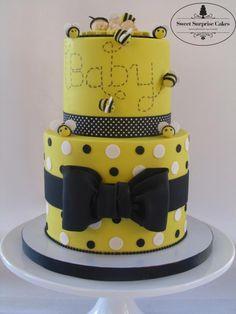 Babee Shower Cake