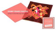coaster tutori, tutorials, sew tutori, sew project, squar coaster, techniqu tutori, granni squar, granny squares, quilt coaster