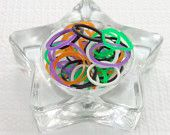 Halloween Mix of Rainbow Loom Bands, 125 Count, Jelly and Glow in the Dark! Mix C