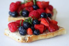 #Vega BERRY BRUSCHETTA by A Whisk and Two Wands #IndependenceDay #4thOfJuly