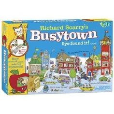 Richard Scarry Busy Town - for Ella