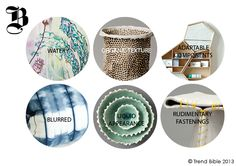 Submerged - Home Trends: Autumn Winter 2013/14