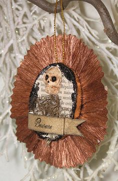 Halloween Folk Art Ornament