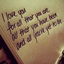 I love you unconditionally!!!