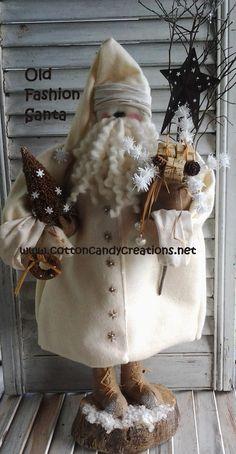 Old Fashion Santa Pattern