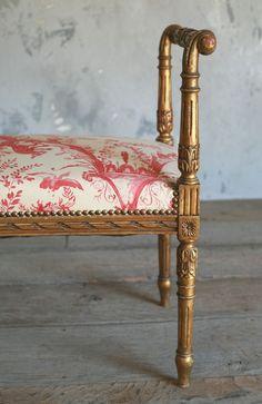 gorgeous antique bench