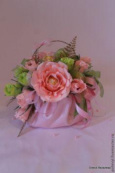 Конфеты в букетах мастер класс розы