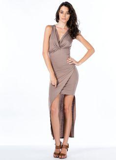 Do Get It Twisted Asymmetrical Dress