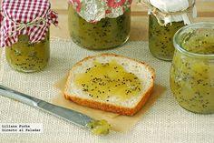 mermelada casera de kiwi