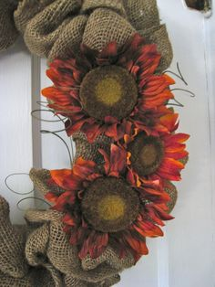 burlap wreaths, burlap idea, burlap crafts, diy andcraft, daili updat, flowers, blog, craft ideas, idea daili