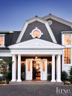 Colonial Front Door On Pinterest Colonial Exterior Colonial House