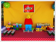 Lego Birthday Party Ideas | Photo 6 of 24 | Catch My Party