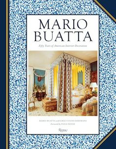 """It took him over 50 years, but #interior design main-stay Mario Buatta released his first design book in 2013, entitled """"Mario Buatta: Fifty Years of American Interior Decoration."""" Highlighting his most acclaimed #designs, including the homes of A-listers such as Mariah Carey and Barbara Walters, Buatta has made his 432-page editorial debut a personal one, infused with his humor as well as his timeless designs."""