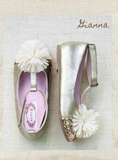 One Good Thread - Joyfolie - Giana - Pom Pom Gold Glitter Toe Dress Shoe - Gold, $62.00 (http://www.onegoodthread.com/joyfolie-giana-pom-pom-gold-glitter-toe-dress-shoe-gold/)