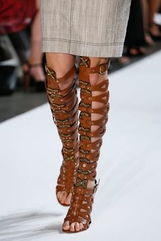 Altuzarra 2013 - Gladiator shoes