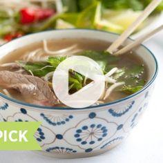 Vietnamese Beef Noodle Soup – Pho Recipe Video