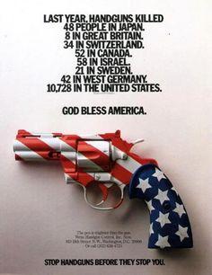 Guns? No thanks!