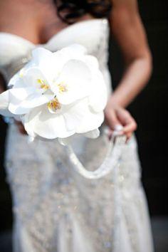unique orchid bouquet by Tantawan Bloom