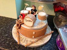 Coolest #drum birthday cake ever