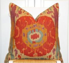 Beautiful Decorative Pillow Cover  20 x 20  by TurquoiseTumbleweed, $47.00