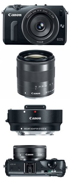 Canon EOS M Camera - Many of the joys of a DSLR in a more compact package