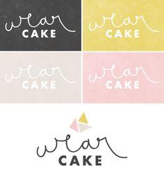 wear cake / breanna rose / branding / logo design
