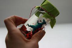 Dinosaur Valentines.. using old spice jars