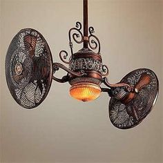 coolest fan ever, if only the ceilings in my house were taller, lol!!