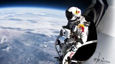 Felix-Baumgartner-at-the-Edge-of-Space...awesome picture!!!   Pure extreme adrenaline!!!