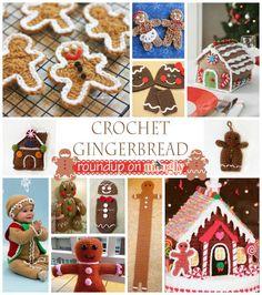 Bake (or Make!) A Dozen Free #Crochet Gingerbread Patterns