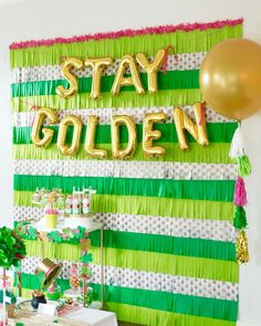 Stay Golden St. Patr