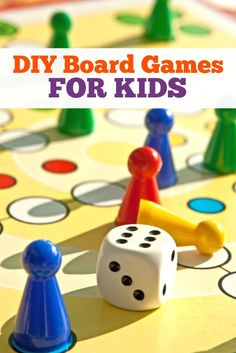 If your kids love to play board games, then they'll especially love MAKING their own board games! kid board, board games, make your own game board