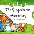 The gingerbread man story for children in pre-k, kindergarten and first grade. You can use this in the reading/literacy center, as an emergent read...